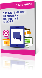 5 Minute Guide to Modern Marketing in 2019